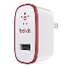 Mix-it Sng Wall Charger iPad 2.1amp Red
