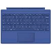 Surface Pro 4 Type Cover Blue Qwerty Uk